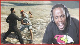 GTA 5 Online Fight Club - THEY CALL ME SLUMP DIGGITY!