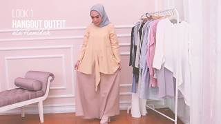 Mix And Match With Hamidah Everyday Hijab Outfit Ideas