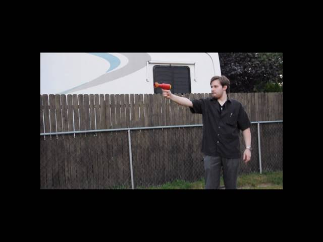 Austin Magic Pistol - Vintage Space Toy