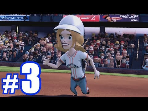 REGINA'S FIRST HOME RUN! | SUPER MEGA BASEBALL #3