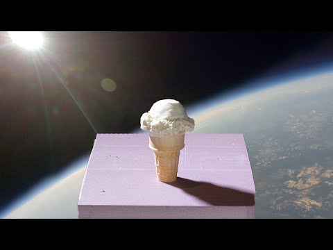 Making Ice Cream in Space