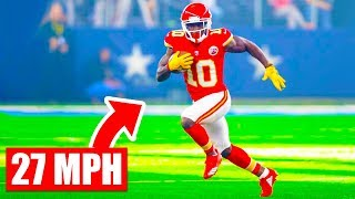 FASTEST Players In NFL History