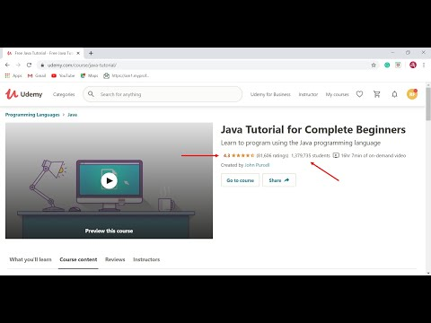 5 Best Free Java Courses for Beginners on Udemy - YouTube