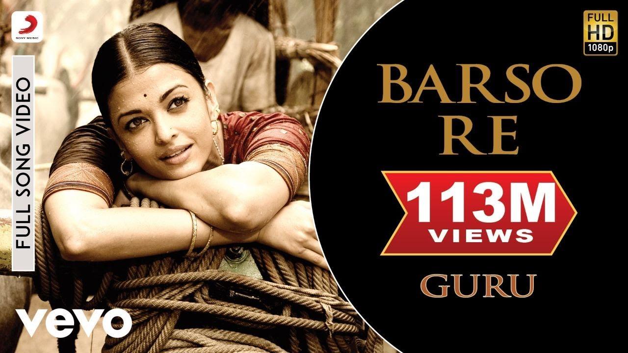 Barso Re Lyrics Hindi English