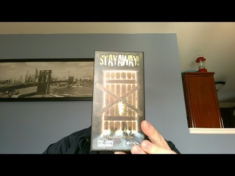The Board Game Kaptain's review and tutorial for Stay Away!