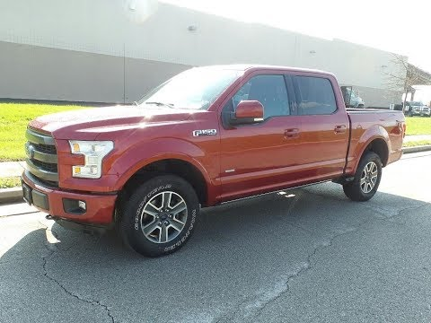 Pre-Owned 2016 Ford F-150 Lariat 4x4 SuperCrew Cab Styleside 5.5 ft. box 145 in. WB
