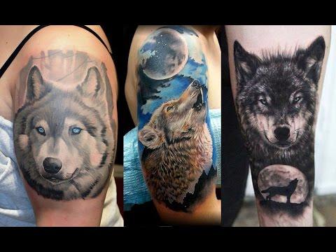 Diseños de Tatuajes de Lobos para Hombres | Ideas de Tatuajes de Lobos para Mujeres