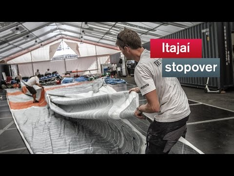 Sail repair at the extreme