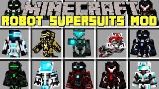 minecraft mod robot super suit - 免费在线视频最佳电影电视节目