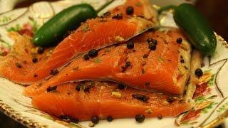 Как засолить красную рыбу - малосольная (Горбуша, Сёмга, Форель, Кета)