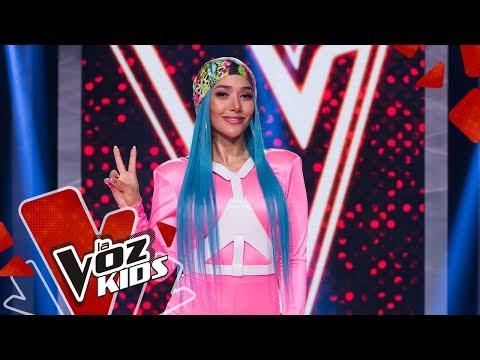 Farina cuenta a cuáles artistas admira a nivel nacional e internacional | La Voz Kids Colombia 2019