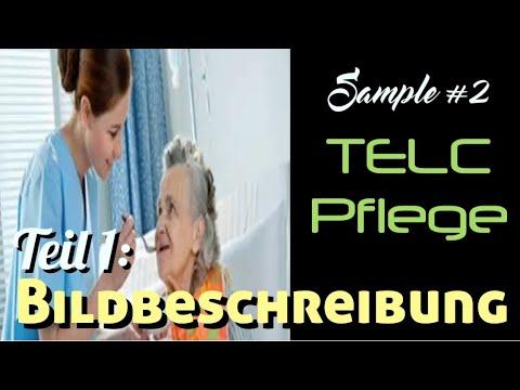 Bildbeschreibung Samples   TELC Pflege