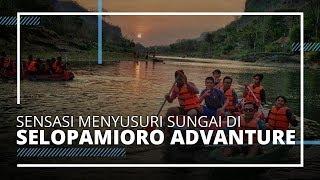 Selopamioro Adventures Park Wisata Sungai di Bantul