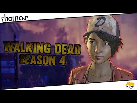 The Walking Dead 4: The Final Season - Oznamovací trailer s volným překladem | Thomas
