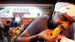 The Birthplace of SAUCE DOUBLES in Trinidad & Tobago | jadeeeats