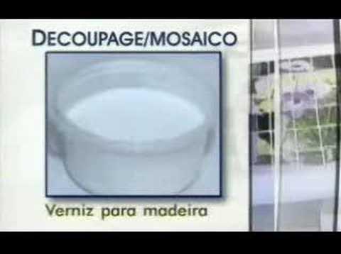 Mosaico e Decoupage