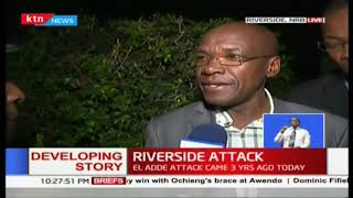 Boni Khalwale talks about communication with his daughter who is also trapped in dusitD2