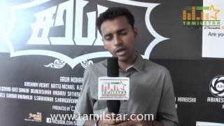Director Arun Mohan at Sarabam Movie Team Interview