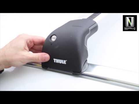 Instalación barras de techo Thule 959X