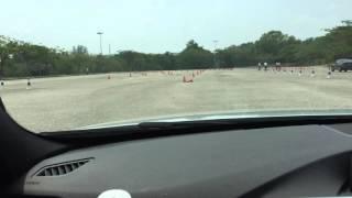 BMW F30 320i Sport Slalom
