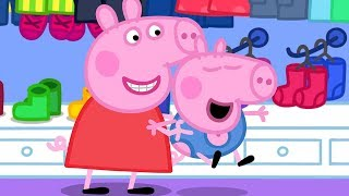 Peppa Pig Full Episodes | George's New Clothes | Cartoons for Children