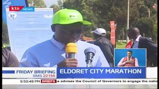 Eldoret City Marathon saw the planting of 750,000 trees