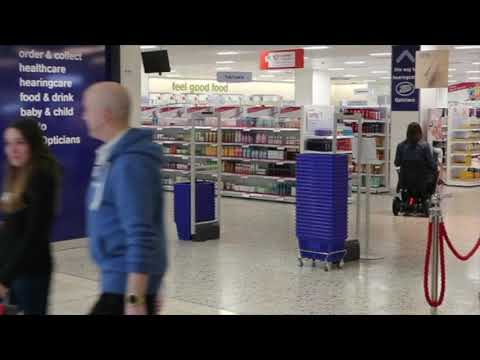 Easy shopping in a powered wheelchair - WHILL Model C from TGA with Georgina YouTube video thumbnail