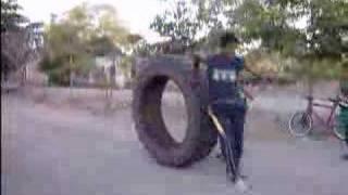 el tractor humano