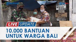 Kodam IX/Udayana Salurkan 10 Ribu Bantuan untuk Warga Bali, Gandeng e-Commerce untuk Distribusi