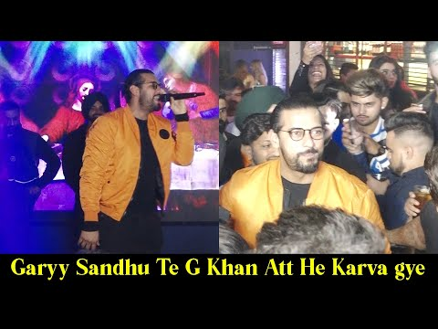 Garry Sandhu And G Khan First Live Show In Chandigarh 2020