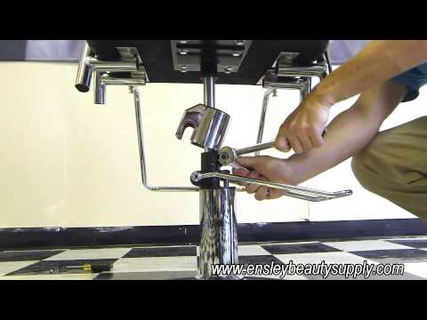 How to Adjust Hydraulic Salon Styling Chair Spin Tension and Locking Resistance