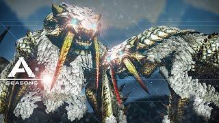 ARK: Survival Evolved - MONSTER HUNTER MOD BARIOTH, GLACIAL IGUANODON #9 - Pugnacia Modded Gameplay