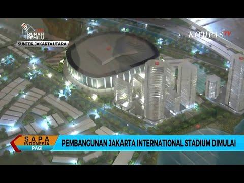 Anies Baswedan Resmi Buka Proses Pembangunan Jakarta Internasional Stadium
