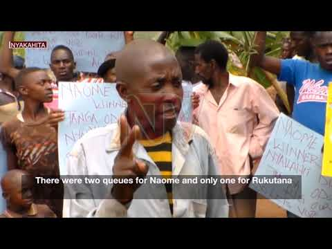 Kabasharira calls for calm as supporters protest in Rushenyi