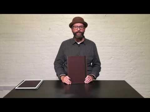 Oxford Leather iPad Pro 12.9 Cases Video