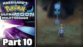 Pokémon Ultra Moon Walkthrough, Part 10: Route 3 (+ Mystery Gift Rockruff)