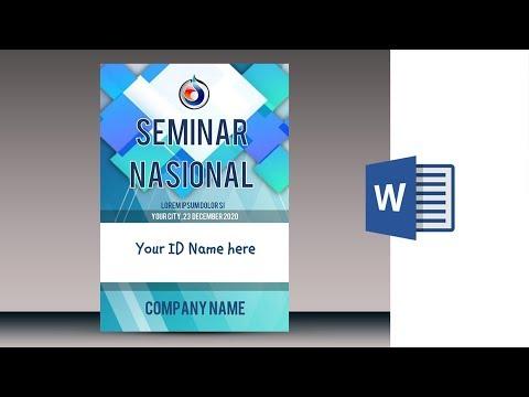 mp4 Design Name Tag Peserta, download Design Name Tag Peserta video klip Design Name Tag Peserta