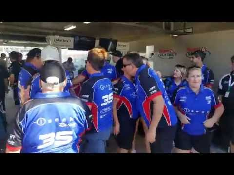 Todd Hazelwood Pit Cam at 2016 Townsville 400