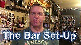 Become a Bartender - The Bar Set-Up