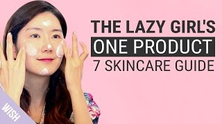 Lazy Skincare Routine with Eunice | feat Koonice | Wishtrend