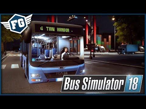 NOVÁ LOKACE + TRÁPENÍ - Bus Simulator 18 DLC