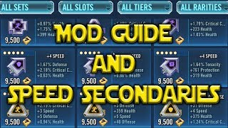 MOD Guide Revised - Speed Secondaries | Star Wars: Galaxy Of Heroes - SWGOH