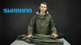 Куртка shimano ds basic jacket черная xl