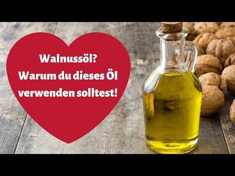 Walnussöl 🔴 3 gute Gründe warum du es verwenden solltest!
