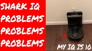 Shark IQ Robot Vacuum R101AE RV1001AE - Self Empty Base Dock - Review - PROBLEMS PROBLEMS PROBLEMS