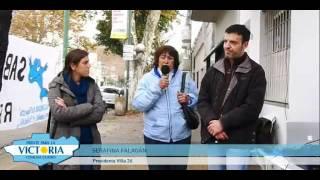 Apoyo del Frente para la Victoria a los vecinos de Villa 26-Barracas (19-05-2012)
