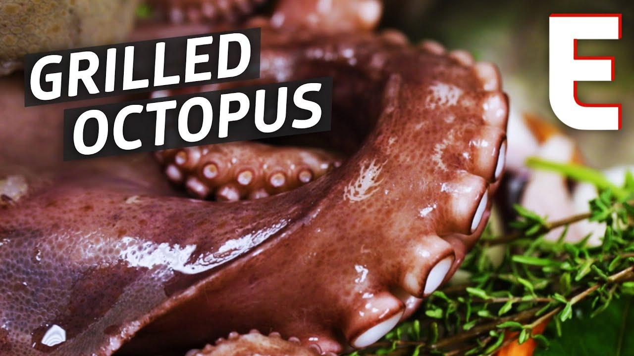 Butchering Octopus at New York's Marea — Snack Break thumbnail