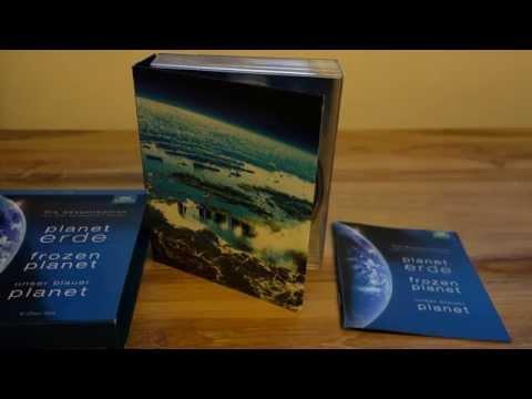 Unboxing: Planeten-Box – Planet Erde, Frozen Planet, Unser blauer Planet (Blu-ray German)
