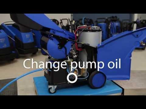 Nilfisk ALTO NEPTUNE 7 maintenance