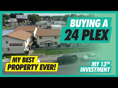 , title : 'My BEST Investment EVER | 24 Unit Apartment Complex | Real Estate Investing